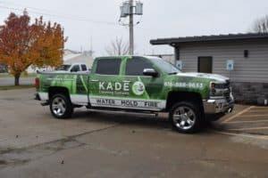 liberty water damage repair truck