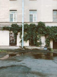 water damage restoration missouri liberty exterior after flood